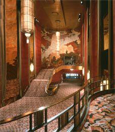 Lobby of the Radio City Music Hall, New York City