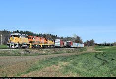 RailPictures.Net Photo: NECR 721 New England Central EMD SD40-2 at Vernon, Vermont by Billy Wehmeyer