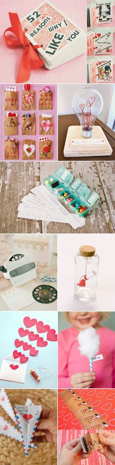 "30 Creative Ways to say ""I Love You"" – DIY Handmade Valentine's Day Ideas! DIY Gifts!"