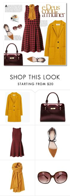 """""""I hope we meet again"""" by limass ❤ liked on Polyvore featuring Zara, ZALORA, Toast and Oliver Peoples"""
