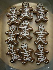Halloween cookies I made for my son's class :) Found the recipe in Canadian Living magazine.