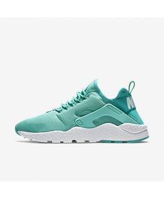 sports shoes e4860 62488 Nike Air Huarache Ultra Hyper Turquoise White White Trainers