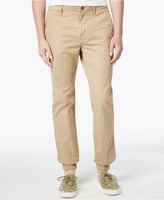 Superdry Men's Rookie Grip Chino Joggers - Pants - Men - Macy's