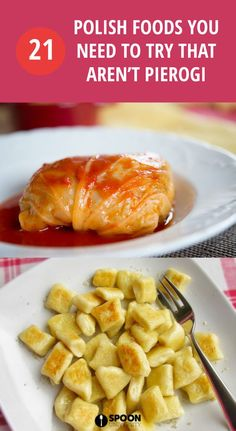 pierogi recipe 21 Polish Foods You Need to Try That Arent Pierogi Eastern European Recipes, European Cuisine, Ukrainian Recipes, Russian Recipes, Ukrainian Food, Slovak Recipes, Czech Recipes, Gourmet, Entrees