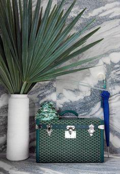 Kelly Wearstler #kellywearstler #interior #hue #green #decor …