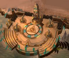 Luxoria Arena from Heroes of the Storm