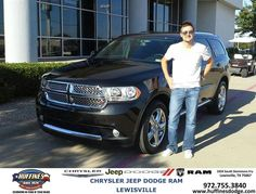 #HappyAnniversary to Michael Allnutt on your 2013 #Dodge #Durango from Ibrahim Masoud at Huffines Chrysler Jeep Dodge Ram Lewisville!