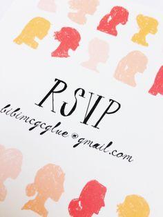 Mr. Boddington's Studio Hens Reply Card