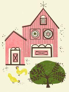 Farm House Pink  by Jenny Tiffany