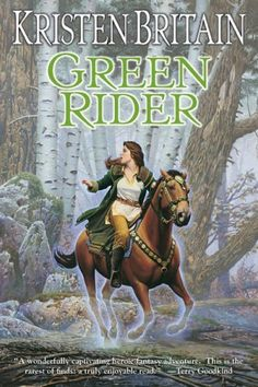Green Rider - Another great series for teens, tweens and their moms. ;)