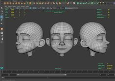 Character Sheet, Character Modeling, 3d Character, Character Design, Polygon Modeling, 3d Modeling, Face Topology, 3d Anatomy, 3d Mesh