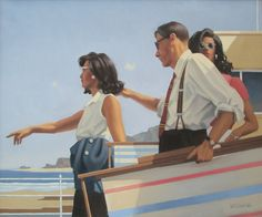 Jack Vettriano - The Sunseekers
