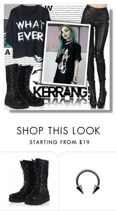 """""""Kerrang!"""" by isabeldizova ❤ liked on Polyvore featuring Haider Ackermann"""
