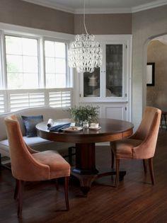 dining by CCG Interiors, LLC. http://www.houzz.com/photos/152809/CCG-Interiors-LLC-eclectic-dining-room-chicago