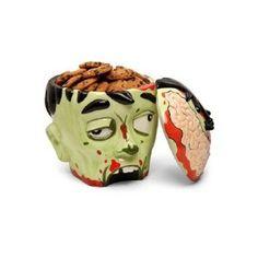 #3: Zombie Head Cookie Jar