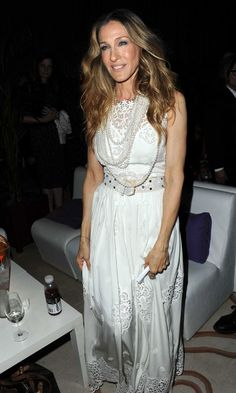 MIKIMOTO pearls adorn Sarah Jessica Parker at Cannes Fim Festival