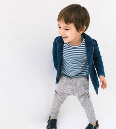 Striped pocket T-shirt-T-SHIRTS-BABY BOY   3 months-3 years-KIDS   ZARA United Kingdom