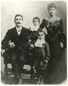 The Schwartz family, who lived in 97 Orchard Street in the late 1800's and early 1900's.