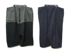 Yohji Yamamoto POUR HOMME 名作 「09AW」 Bigシルエットリバーシブルワイドサルエルパンツ (スーツOK) big-silhouette reversible pants