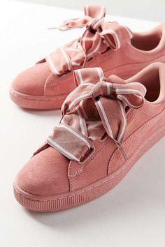 Puma Suede Heart Satin II Sneaker   Urban Outfitters