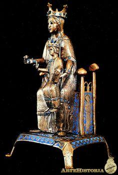 Virgen de Jerusalén Autor: Autor Anónimo Fecha: Siglo XIII Museo: Basílica de Nuestra Señora de Jerusalén de Artajona