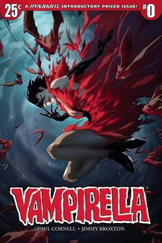 Images: Dynamite Entertainment Vampirella #0 Comic Book Preview. spoiler free comic book news from the movie sleuth.