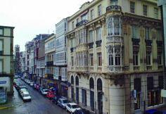 Ferrol de la Ilustración Ten, Street View, Retro, Modernism, Historia, Umbrellas, Antique Photos, Infancy, Cities