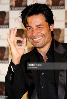 Singer Chayanne presents his new album 'No Hay Imposible' at the Palacio de los Deportes on May 26, 2010 in Madrid, Spain.