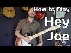 ▶ How To Play Hey Joe By Jimi Hendrix - Guitar Lesson - YouTube