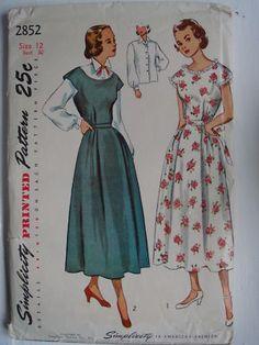 1950's maternity dress