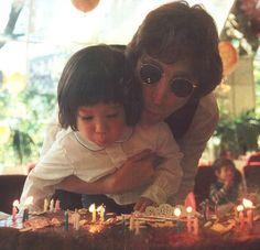 #John and #Sean #Lennon
