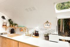 Tour: Vintage Airstream Gets a Scandinavian Style Remodel | Apartment Therapy
