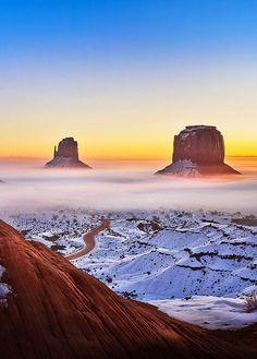 El Valle de los Monumentos en Arizona/Utah