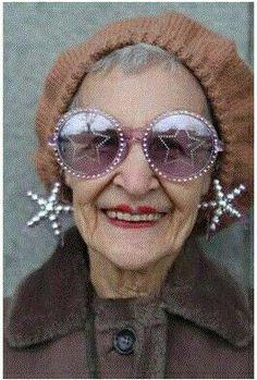 Eccentric Older Women | Pinned by Ylva