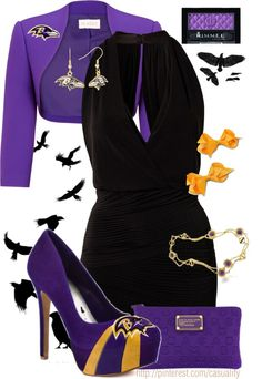 """""""Baltimore Ravens"""" by casuality on Polyvore"""