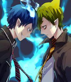Rin Okumura & Amaimon - Blue Exorcist