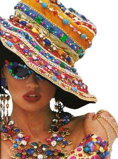 Tatiana Patiz Vogue 1989