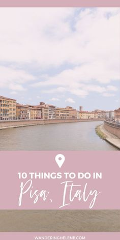 10 unique things to do in Pisa, Italy. From the Leaning Tower to the other leaning towers, the best gelato, seaside, and more for this Tuscan escape. Italy Travel Tips, Travel Tours, Travel Guides, Travel Europe, Cruise Europe, Travel Icon, Croatia Travel, Nightlife Travel, Budget Travel