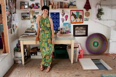 The Lovely Side: Rebecca's Artistic Abode in SF