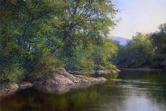 Lamoille Morning by Andrew Orr Oil ~ 16 x 24