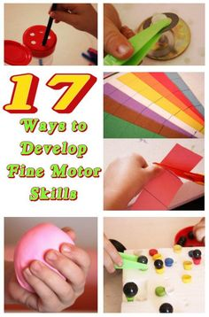 Developing fine motor skills should be an essential in every child's life. Fine motor skills involve the small muscles of the body that...