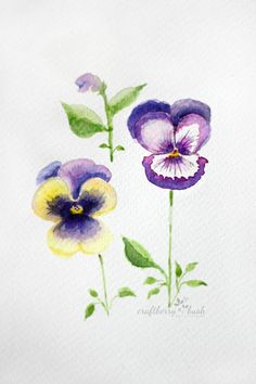 Watercolor Eggs - Craftberry Bush