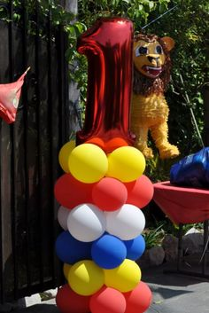 """Photo 11 of 19: Circus /Carnival Party / Birthday """"Xavier's 1st birthday""""   Catch My Party"""