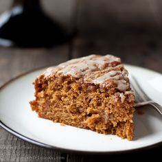 Pumpkin Coffee Cake with Brown Sugar Streusel
