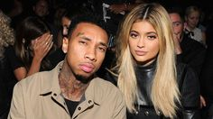 """Tyga is helping to dispel the rumors that he's engaged to Kylie Jenner. In a video posted to the 18-year-old reality star's Snapchat, the 25-year-old rapper makes a reference to his """"fiancee.""""  WATCH: Kylie Jenner Strips Down to Almost Nothing in Super Sexy NSFW Lingerie  """"I don"""