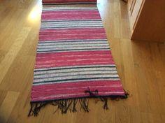 Matta Textiles, Rag Rugs, Loom Weaving, Recycled Fabric, Woven Rug, Recycling, Board, Home Decor, Farmhouse Rugs