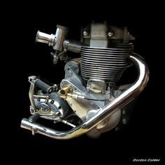 NO 10: CLASSIC BSA GOLD STAR MOTORCYCLE ENGINE | My entire e… | Flickr