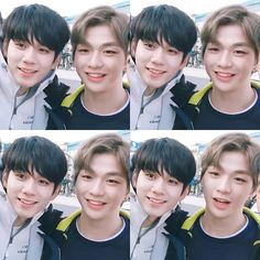 Wanna-One - Seongwoo x Daniel (OngNiel) - OngNiel is science Jinyoung, Ong Seung Woo, Cho Chang, Daniel K, You Are My Life, Kpop Couples, Science Jokes, Produce 101 Season 2, Kim Jaehwan