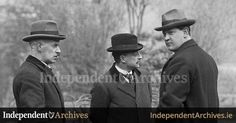 Eamon Duggan, Arthur Griffith & Michael Collins at Sinn Féin Ard Fheis, Ireland 1916, Irish News, Michael Collins, Photo Projects, Revolutionaries, A Good Man, Dublin, Old Photos, Rebel