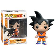 Funko POP! Dragonball Z GOKU Black Hair Version Vinyl Figure
